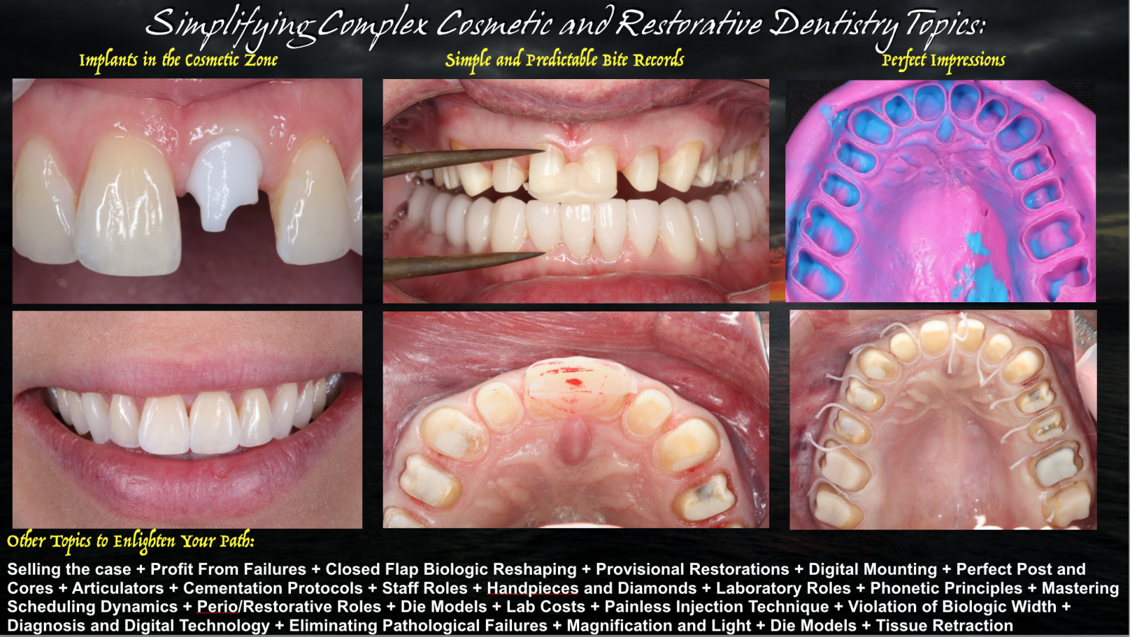 Continuing Education Seminars - William C  Strupp DDS and